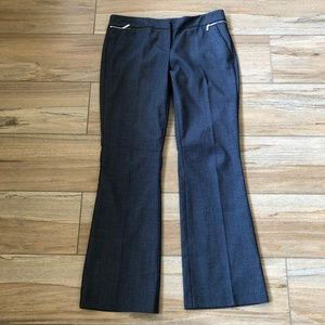 NY & C Blue 7th Ave Studio Slim Flare Dress Pants
